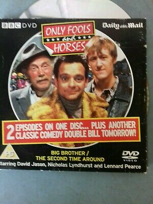 One Foot In The Grave Fools only fools and horess 'Allo 'Allo The Mail Promo DVD