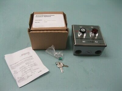 Tyco Suppression Systems 76498 Key Lockout Switch NEW D17 (2669)