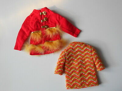 Tenue Barbie Fur Sighted #1796 1970 A Completer