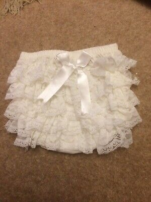 Baby Girls Couche' Tot Frilly Pants To Fit 12-18mths