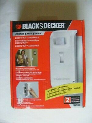 Black & Decker SW100 Energy Saver Series Lights Out Autoswitch