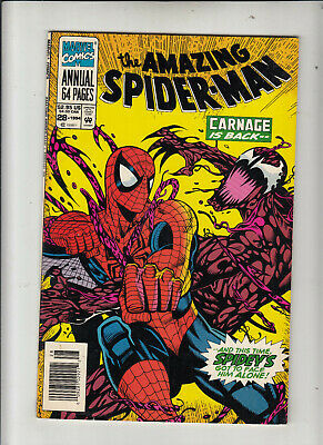 The Amazing Spider-Man Annual #28 (Marvel 1994) Carnage Newsstand  VF-