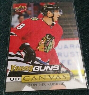 2019-20 Upper Deck Young Guns Canvas Dominik Kubalik #C113