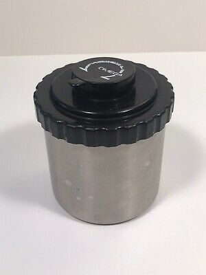 Omega Stainless Steel Film Developing Tank Holds 2x 35mm Or 1x 120 Reels Taiwan