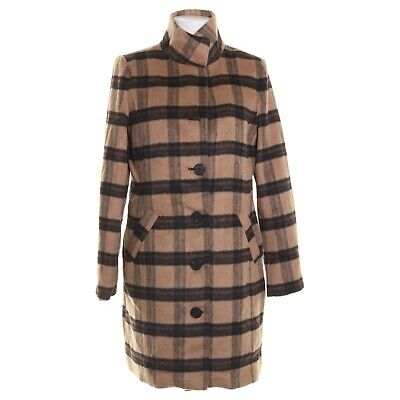 Happy Holly, Coat, Size: 40, Brown/Multicolored, Polyester