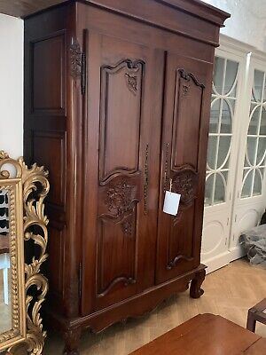 Chalon Solid Wood French Style Armoire Wardrobe
