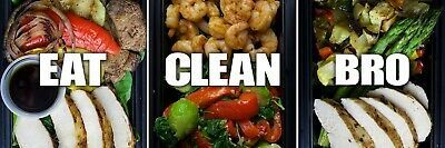 Eat Clean Bro Gift Card $200 MEAL DELIVERY | Redeem Online | Shipping Via Email
