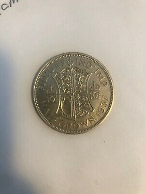 1937 George VI silver half crown