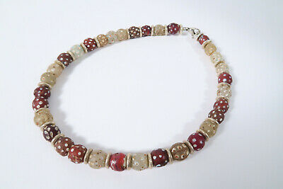 Collier alte Eyebeads Murano BT00 Necklace Eyebeads African Trade Beads Afrozip