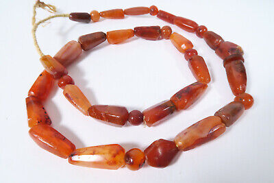 Alte Achatperlen Cambay BT36 Old Agate Stone Trade Beads Afrozip