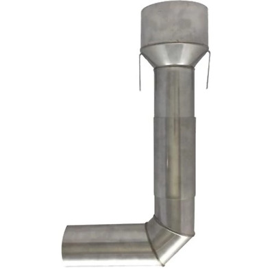 "90° Internal Clay Flue Adaptor Kit 5"" to 8"" (125-200mm)"