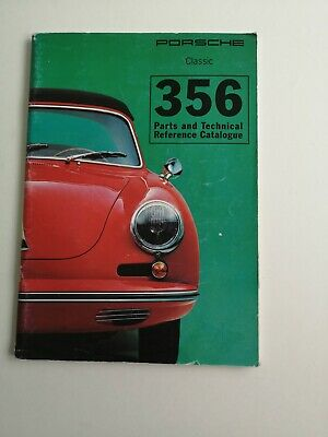 Genuine Porsche UK Supplied 356 Parts and Technical Reference Catalogue
