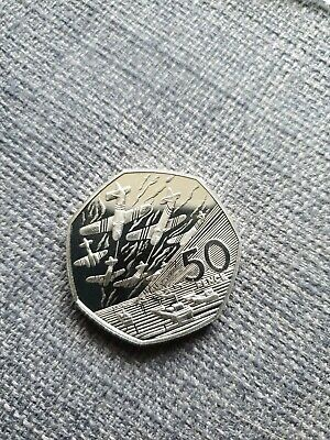 1994  Proof D-Day Commemorative 50p Coin