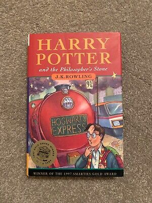 Harry Potter and the Philosopher's Stone J.K. Rowling 1st Aus Ed 1st Print H/b