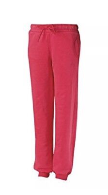 PUMA Girls Jogging Bottoms Pink Age 11-12 Years