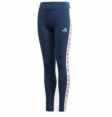 Girls Adidas Athletic Club  Leggings  Ages  5-12  Bnwt  Rrp £22  Last Few