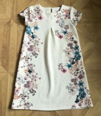 Size: Age 10 Years - Girls Knee Length Floral Patterned Dress - Next - VGC