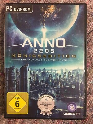 Anno 2205 - Königsedition (PC, DVD-Box)