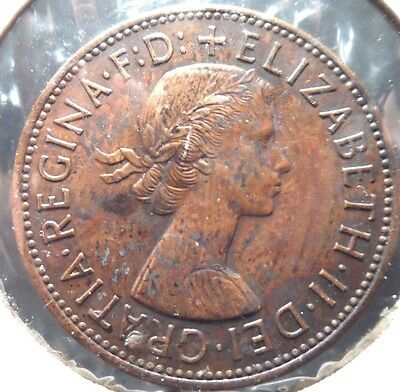 Circulated1967 1 Penny Uk Coin!! (#41615)