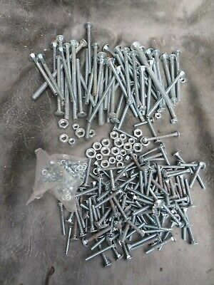 T.L.W Small Box of Assorted Silver Plated Double Split Rings 4 5 6 7 8 10mm.