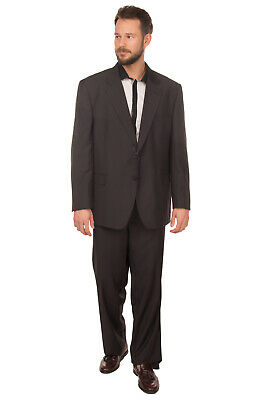 RRP€290 DOMENICO TAGLIENTE Suit Size 61 / 5XL Single Breasted Notch Lapel Collar