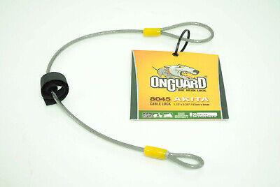 "OnGuard Akita Cable 21/"" x 5mm Bicycle Saddle Seat Cinch-Loop Lock Cable"