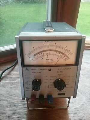 HP 427A RMS Voltmeter/Ohm Meter