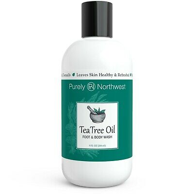 Purely Northwest Tea Tree Oil Foot & Body Wash 9oz