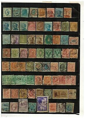 Lot of Italy Old Stamps Used