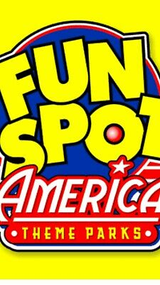 2 Fun Spot America Theme Park Tickets. Valid At Both Theme Parks In Orlando.