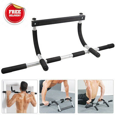 Door Pull Up Bar Gym Fitness Chin Up Workout Exercise Strength Training Station