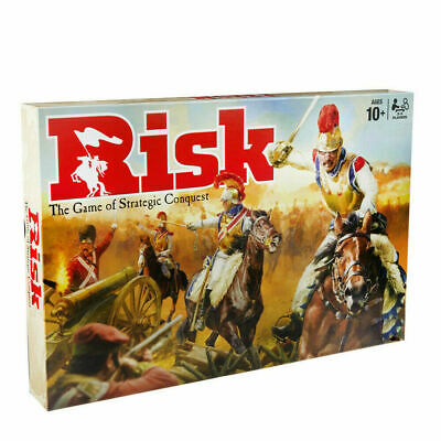 Risk Board Game Hasbro Strategic Fun Family Party Adult Games Gift UK Stock
