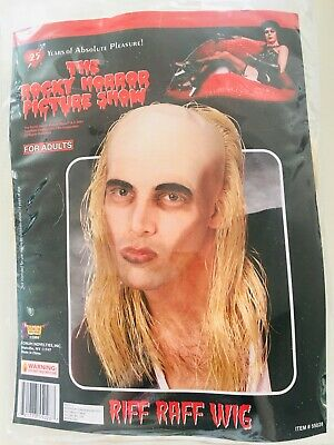 Rocky Horror Picture Show Riff Raff Wig Bald Costume Wig