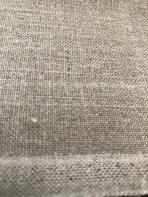 Embroidery Cloth Natural Fawn Linen look possibly 32 count ??