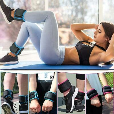 1 Pair Ankle / Wrist Weights For Cuff/ Leg Straps Running Boxing Straps Gym New