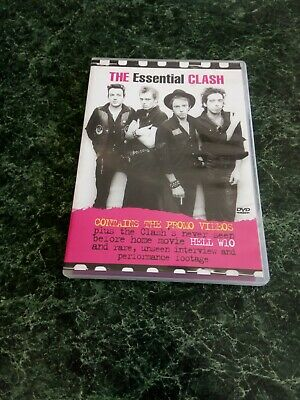 The Clash The Essential DvD