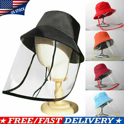 Outdoor Protective Cover Cap Dustproof Anti-Spitting Face Shield Fisherman Hat