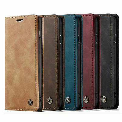 For Xiaomi Note 10 Pro Redmi Note 8 Magnetic Leather Wallet Case Card Flip Cover