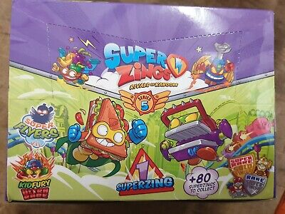 Superzings Series 5 Pack Of 50 New Superzing Brand New Series 5
