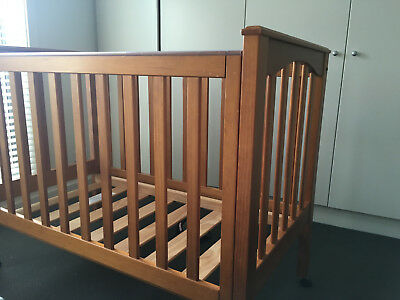 Vintage Wooden Cot and Change Table