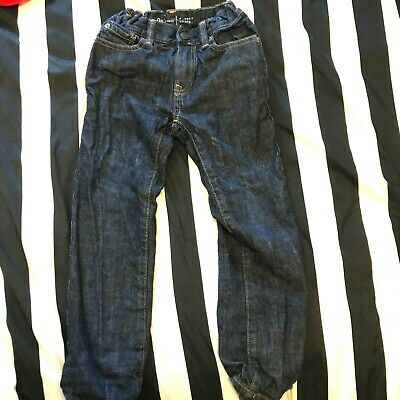 Gap Boys Dark Blue Denim Classic Fit Jeans Age Size 6 Years Yrs
