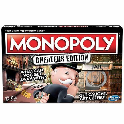 Hasbro MONOPOLY Cheaters Edition - What can you get away with?