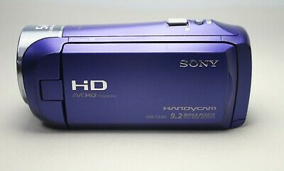 SONY HDR-CX240 Full HD 1080p Camcorder 9.2MP 54X Clear Image Zoom (Video Camera)