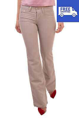 RRP €150 ISABEL MARANT ETOILE Light Corduroy Trousers Size 34 XS Stretch Bootcut
