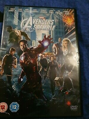 Avengers Assemble DVD (2012) Robert Downey Jr, Whedon (DIR) cert 12 Great Value