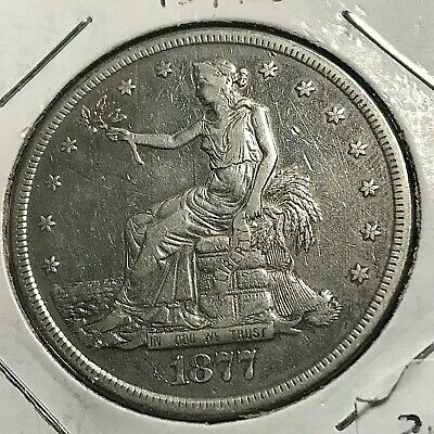 1877-S Silver Trade Dollar Scarce Type Coin