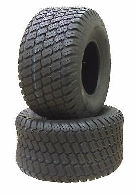 20 x 8.00-8 (Set of 2)  AirLoc P332 M/T Turf Tractor Mower Lawn Tires 6 Ply NEW