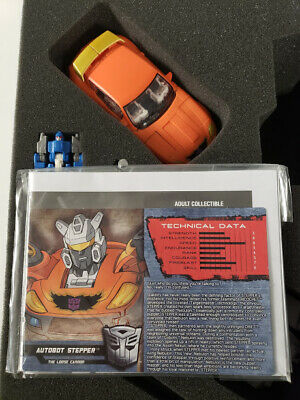 Botcon 2015 Transformers Cybertron Most Wanted Stepper With Targetmaster New