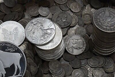Silver Liquidation Old Coins Uncirculated Mixed Rare US Coin Lot! FREE GOLD!! 🔥