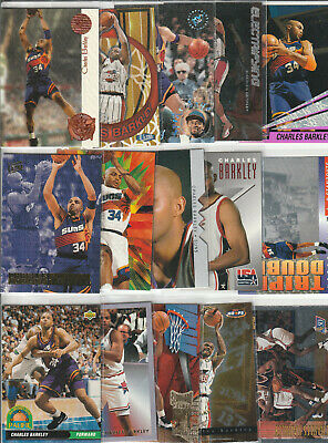 Charles Barkley 76ers Rockets Suns 270 Card Lot Of Base/Subsets & Inserts